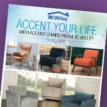 Monthly Category Spotlight: Accent Your Life with Accent Chairs on Sale at RC Willey!