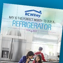 Monthly Category Spotlight: May is the Perfect Month to Buy a Refrigerator from RC Willey!