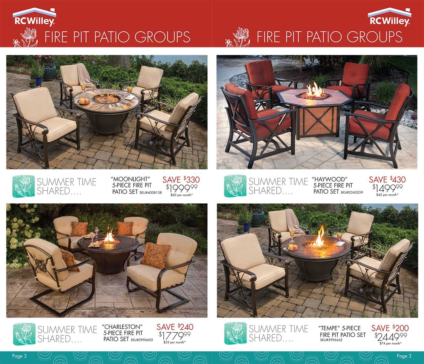 Outdoor Living - Spring Patio Catalog   RC Willey ... on Outdoor Living Shop id=58357