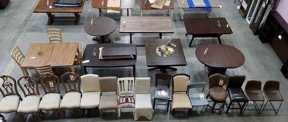 Dining Room Clearance Sale at RC Willey in Henderson, Nevada