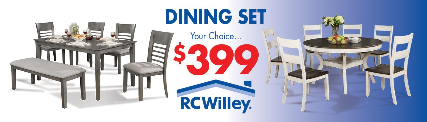 399 Dining Room Sets At RC Willey