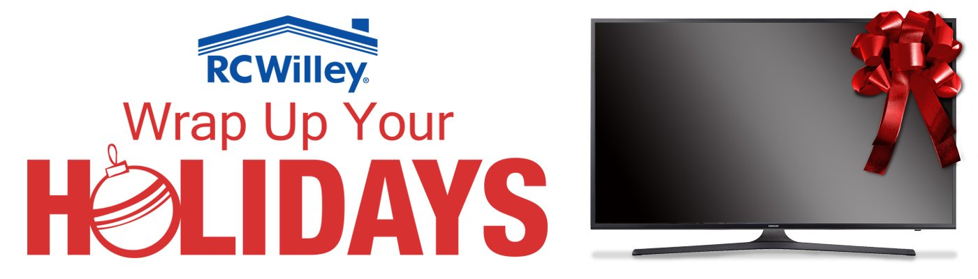 Wrap Up Your Holidays - TVs