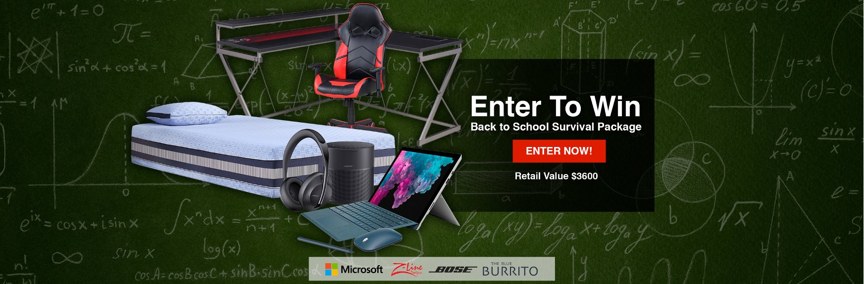 Enter To Win A Back To School Survival Package From RC Willey | Giveaway