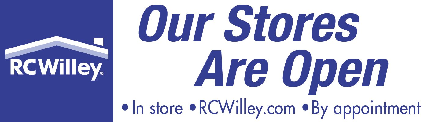 Shop RC Willey online, in-store, and by appointment for all of your Home Furnishings needs on Furniture, Electronics, Appliance, Mattress, Flooring, Fitness and Outdoor.