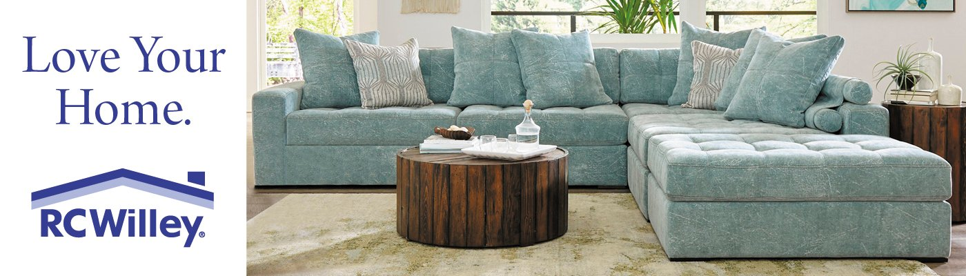 Shop for the perfect furniture for your home at RC Willey