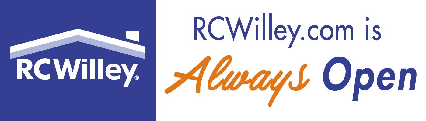 Shop RCWilley.com for all your home furnishings needs. We have essential appliances, electronics, and furniture in-stock and available.