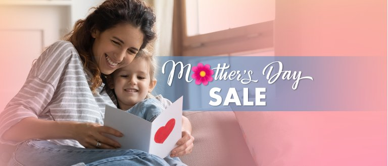 Shop for the Mother's Day Sale at RC Willey, your local retailer of Furniture, Electronics, Appliances, Mattresses and Flooring.