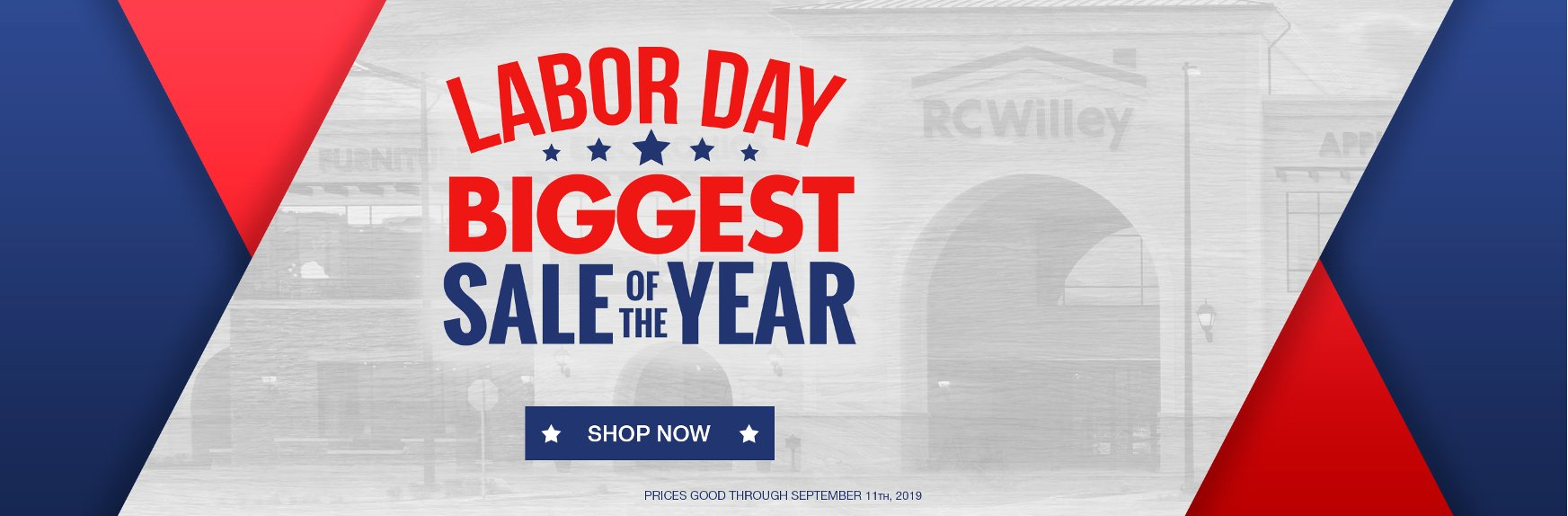 Labor Day Savings On Everything For Your Home Furnishings Needs | RC Willey