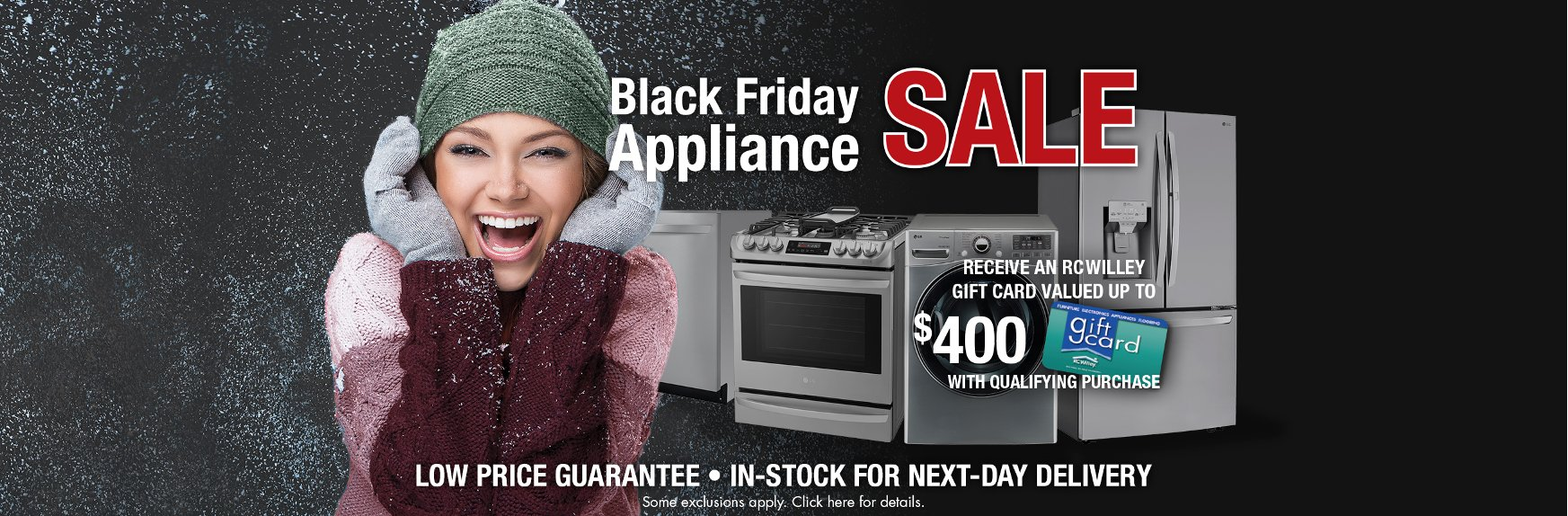 Save on Appliances during the Black Friday Sale at RC Willey | Appliance Store | RC Willey