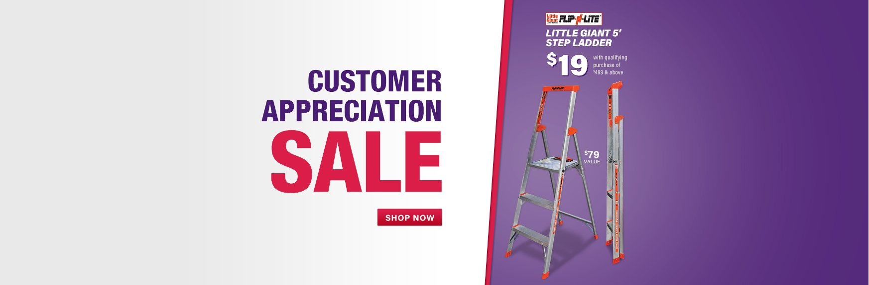 Savings Storewide During The Customer Appreciation Sale At RC Willey