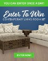 Enter To Win a Contemporary Living Room Package from RC Willey in our February 2020 Giveaway