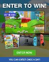 Enter to win a Nintendo Switch Gaming Console with Animal Crossing and Super Mario 3D World + Bowser's Fury AND a Sony X800H 65