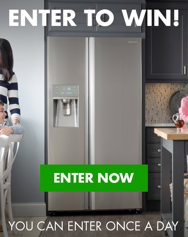 Enter to win a Refrigerator from RC Willey in our July 2020 Giveaway