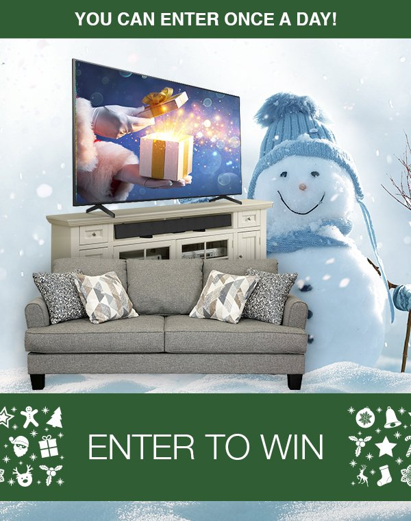 Enter to win a Home Entertainment Package from RC Willey!