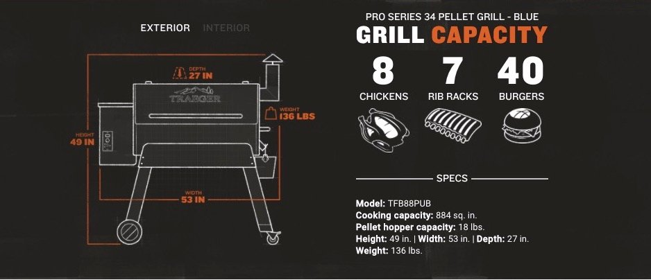 Traeger Grill Pro Series 34