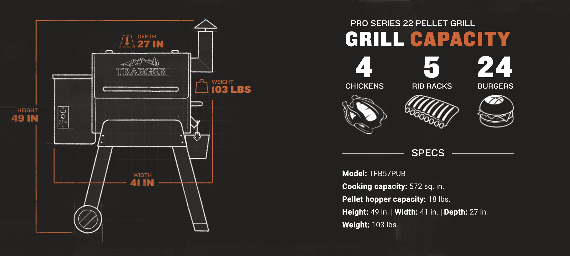 Traeger Grill Pro Series 22