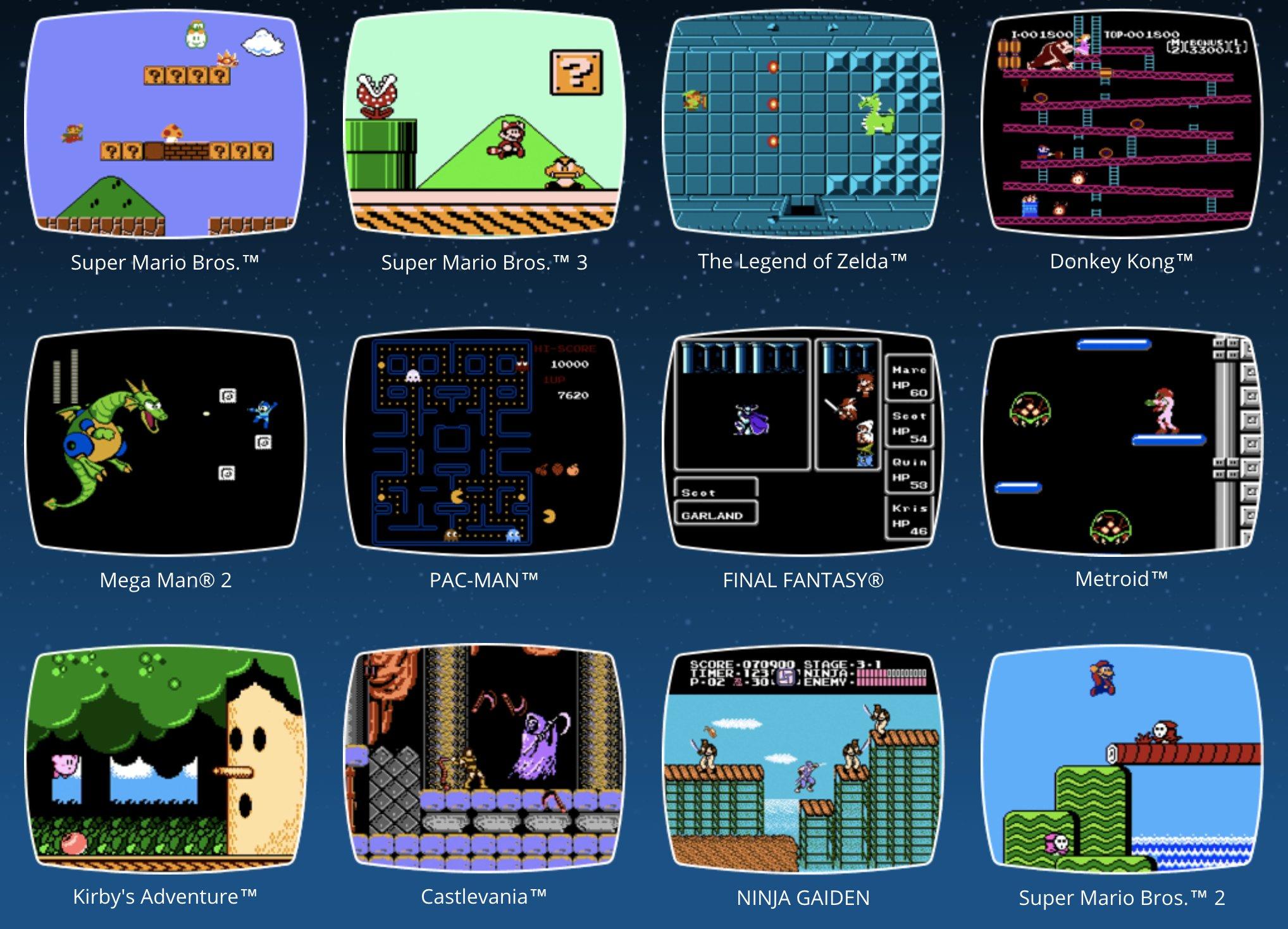 NES Classic Games