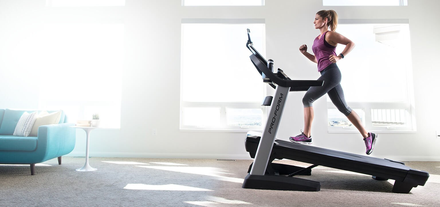 ProForm Treadmill in Home Gym