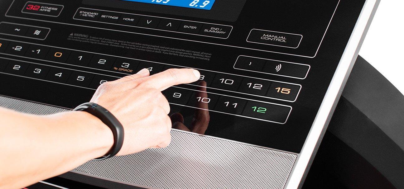 ProForm Treadmill Quick Controls