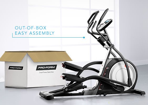 ProForm Elliptical Assembly