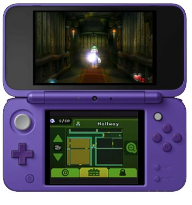 luigi's mansion for the 3ds gameplay