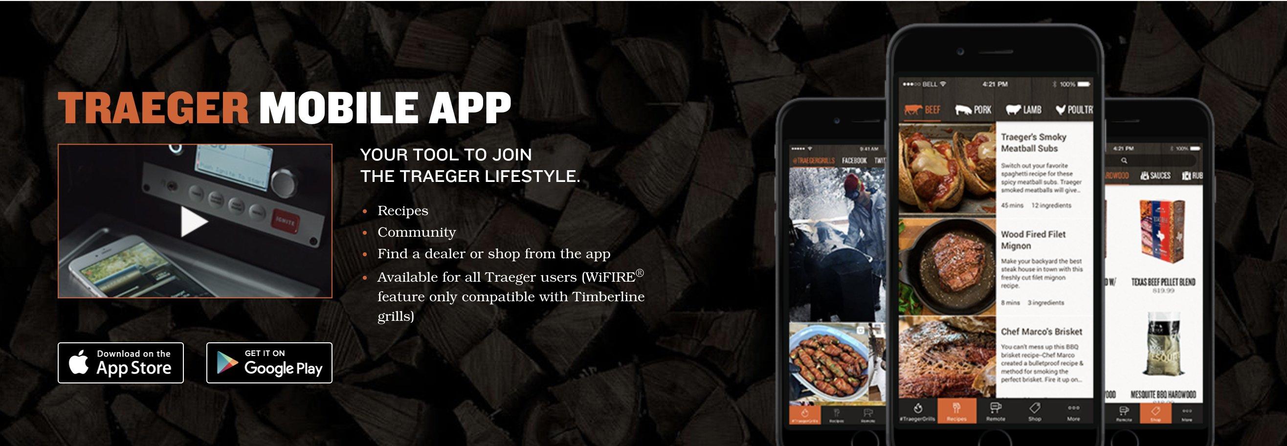 Traeger Grill App