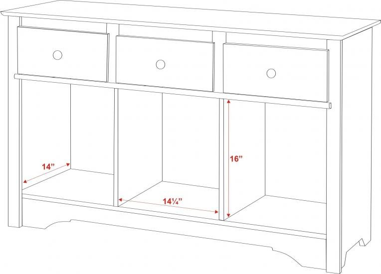 Black Console Table Dimensions