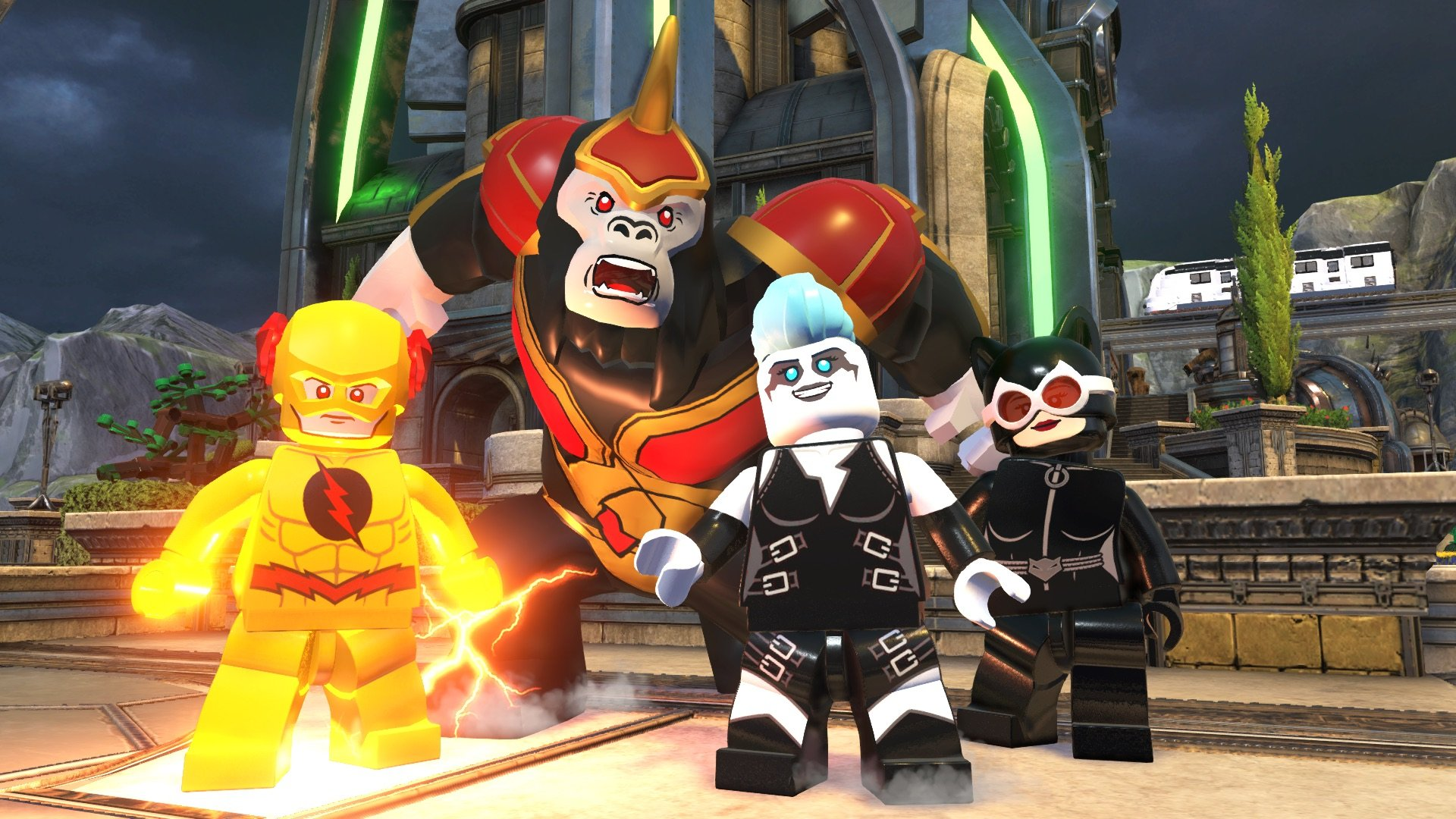 LEGO Villains in the DC universe
