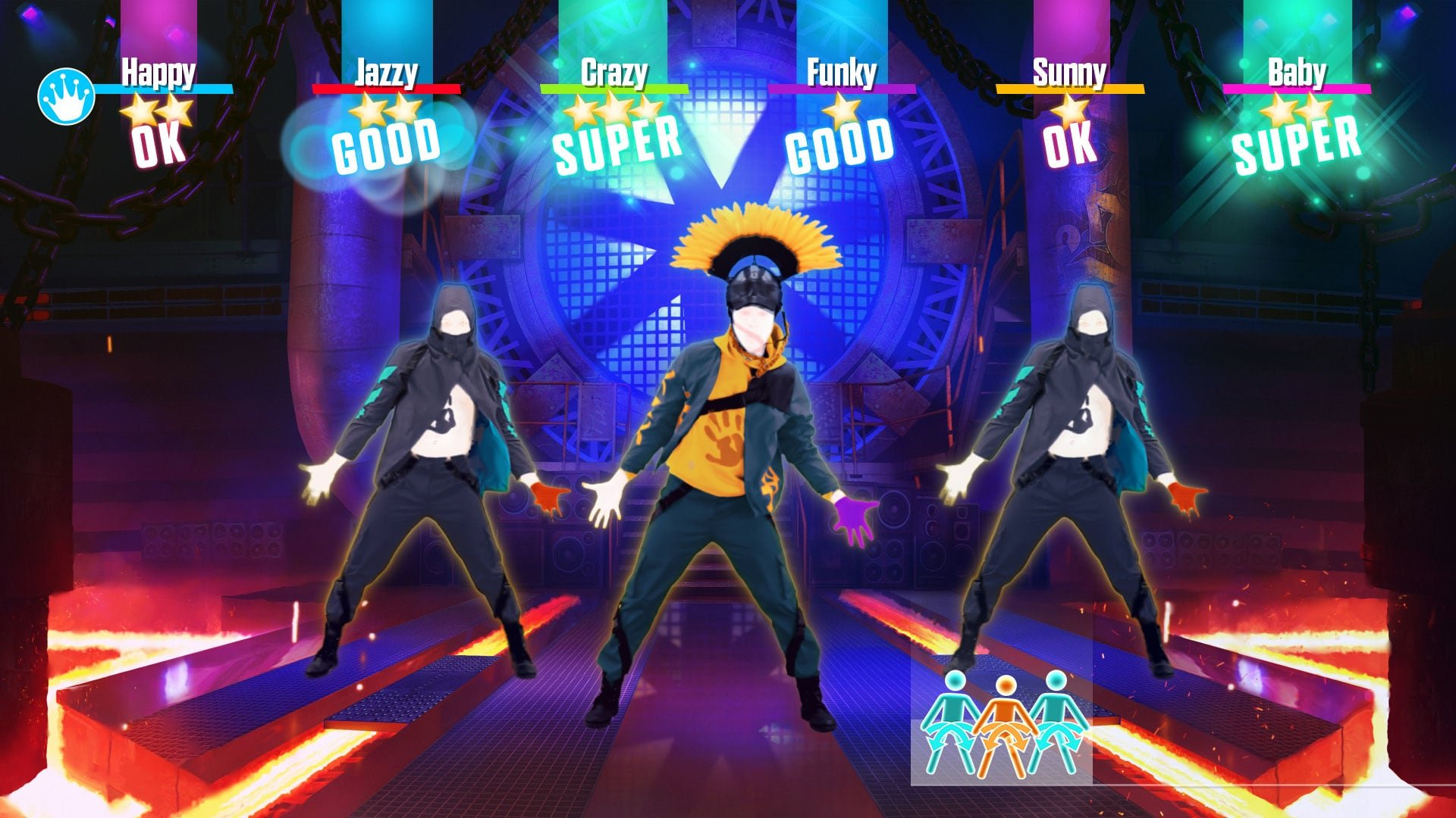 gameplay for Just Dance 2019
