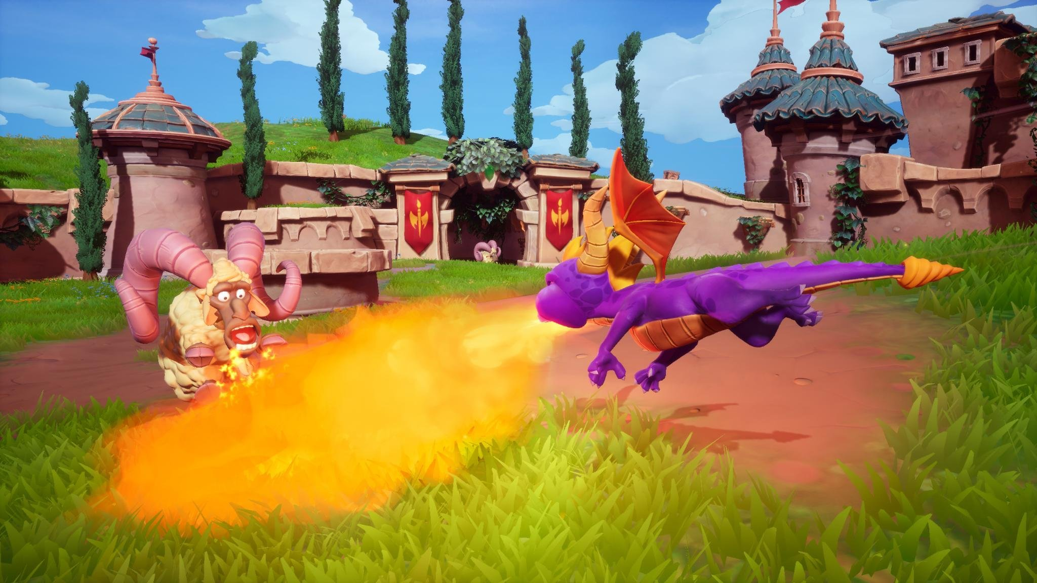 Gameplay of Spyro Reignited Trilogy