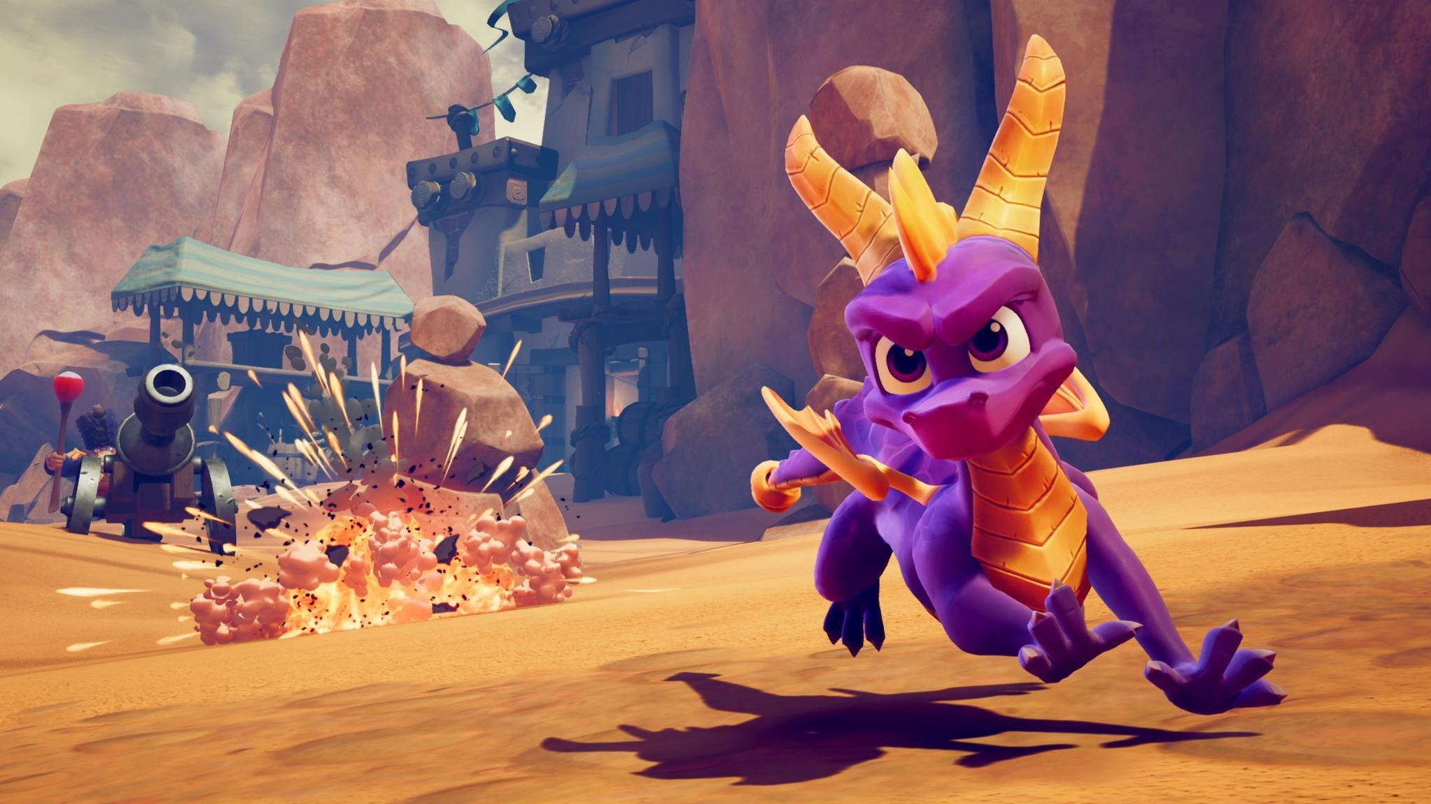 screenshot of Spyro reignited trilogy