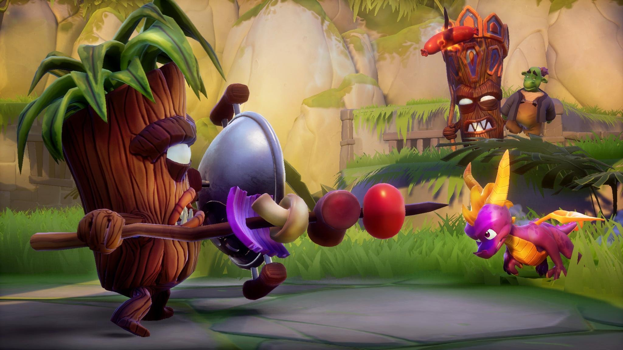 Gameplay footage of Spyro Reignited Trilogy