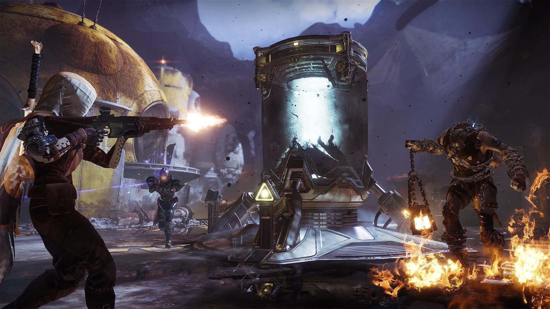 gameplay of Destiny 2 Forsaken Legendary collection