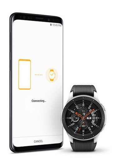 Samsung smartwatch is compatible with Android and iOS
