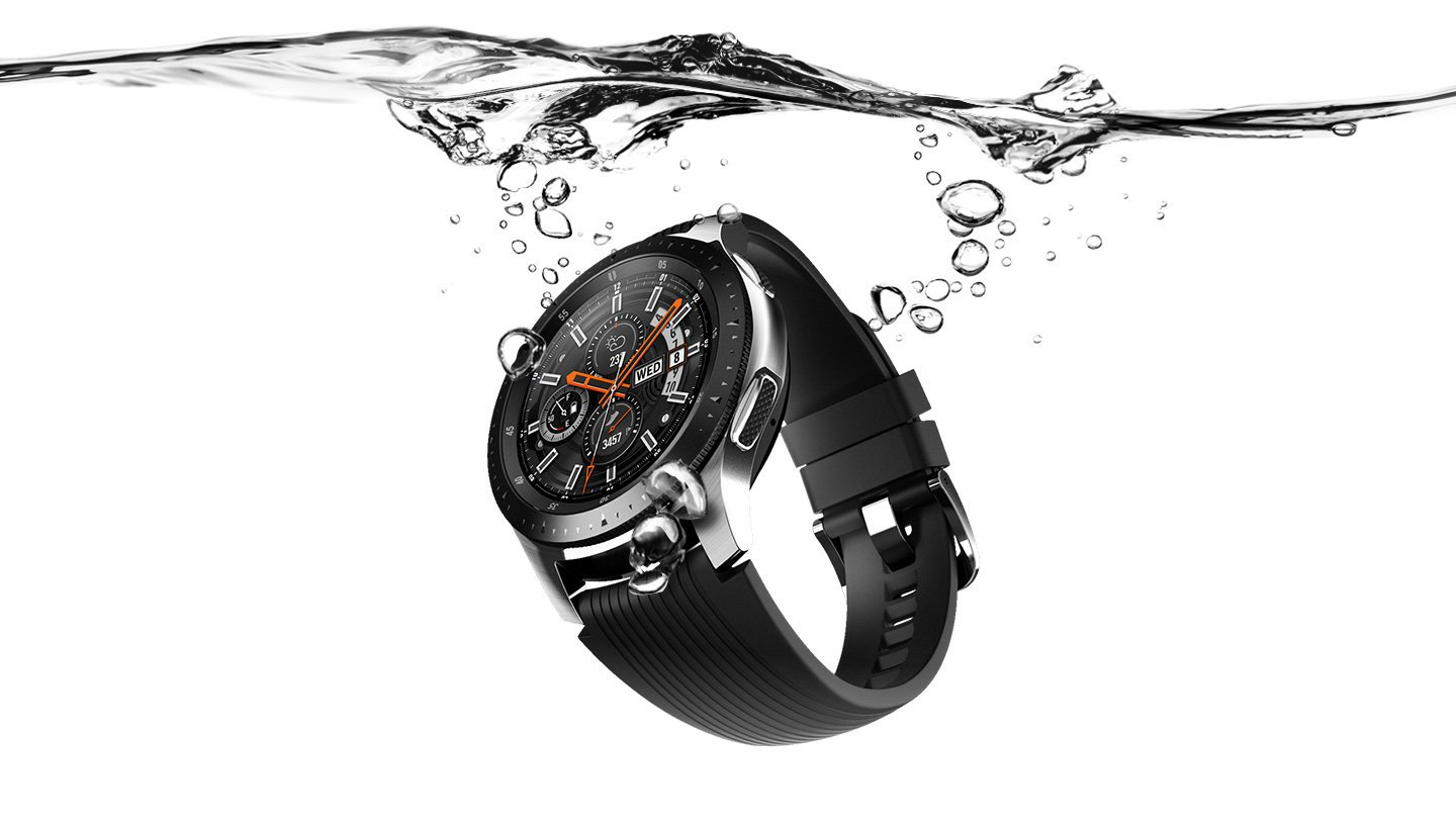 Samsung smartwatch waterproof underwater