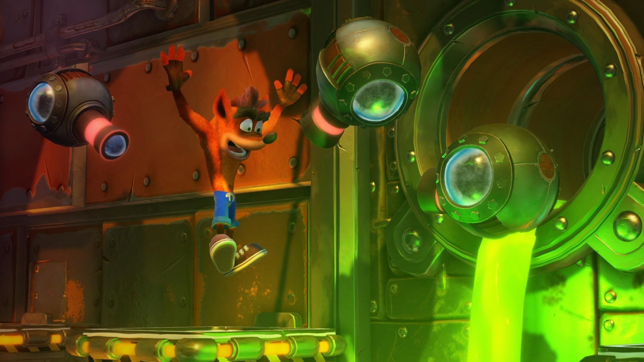 Crash Bandicoot 2 gameplay on PS4