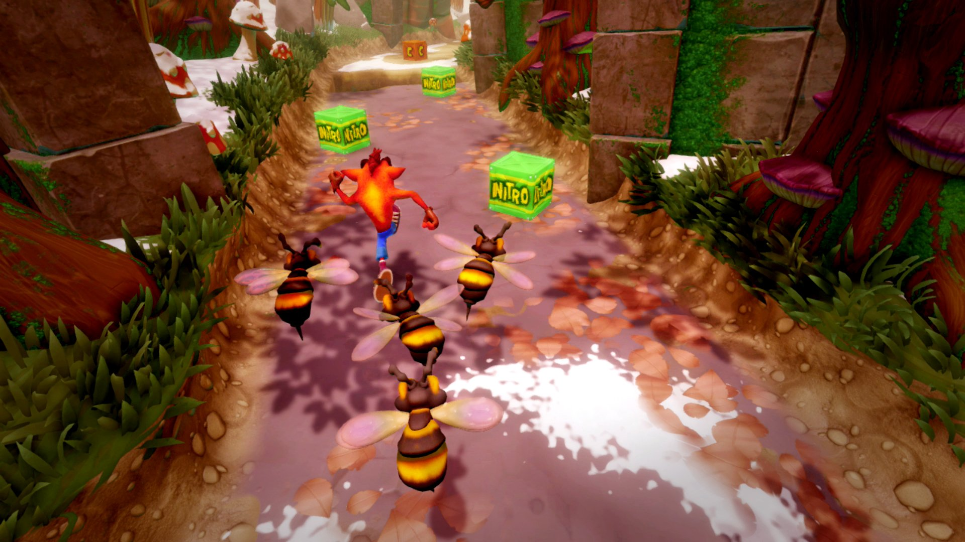 Nintendo Switch Crash Bandicoot gameplay screenshot