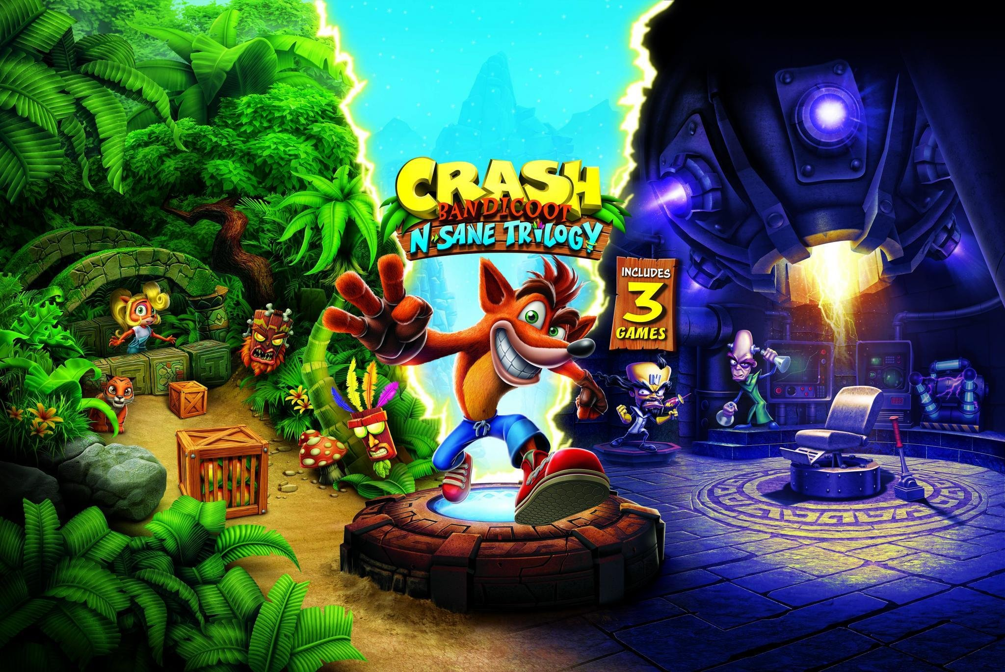 Crash Bandicoot N Sane Trilogy for Nintendo Switch