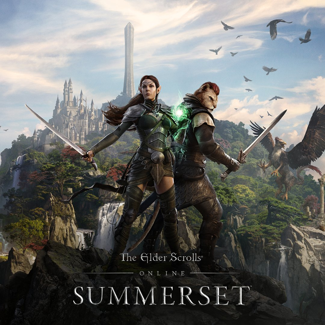 Gameplay of the Elder Scrolls Online Summerset