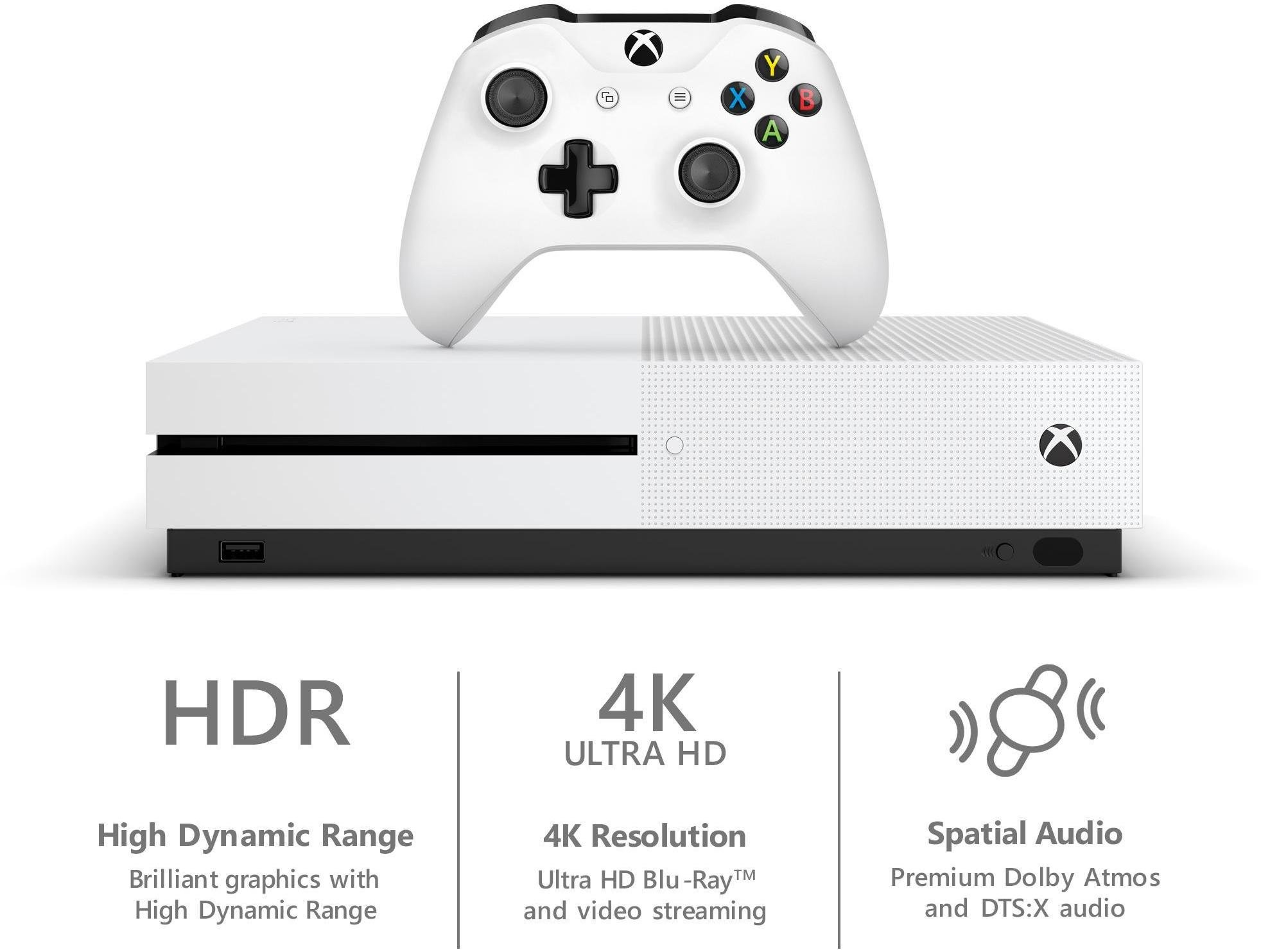 Xbox One S features