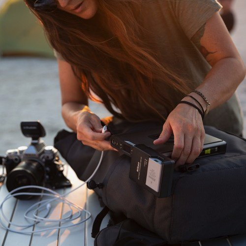Three ways to charge the Sherpa 100AC