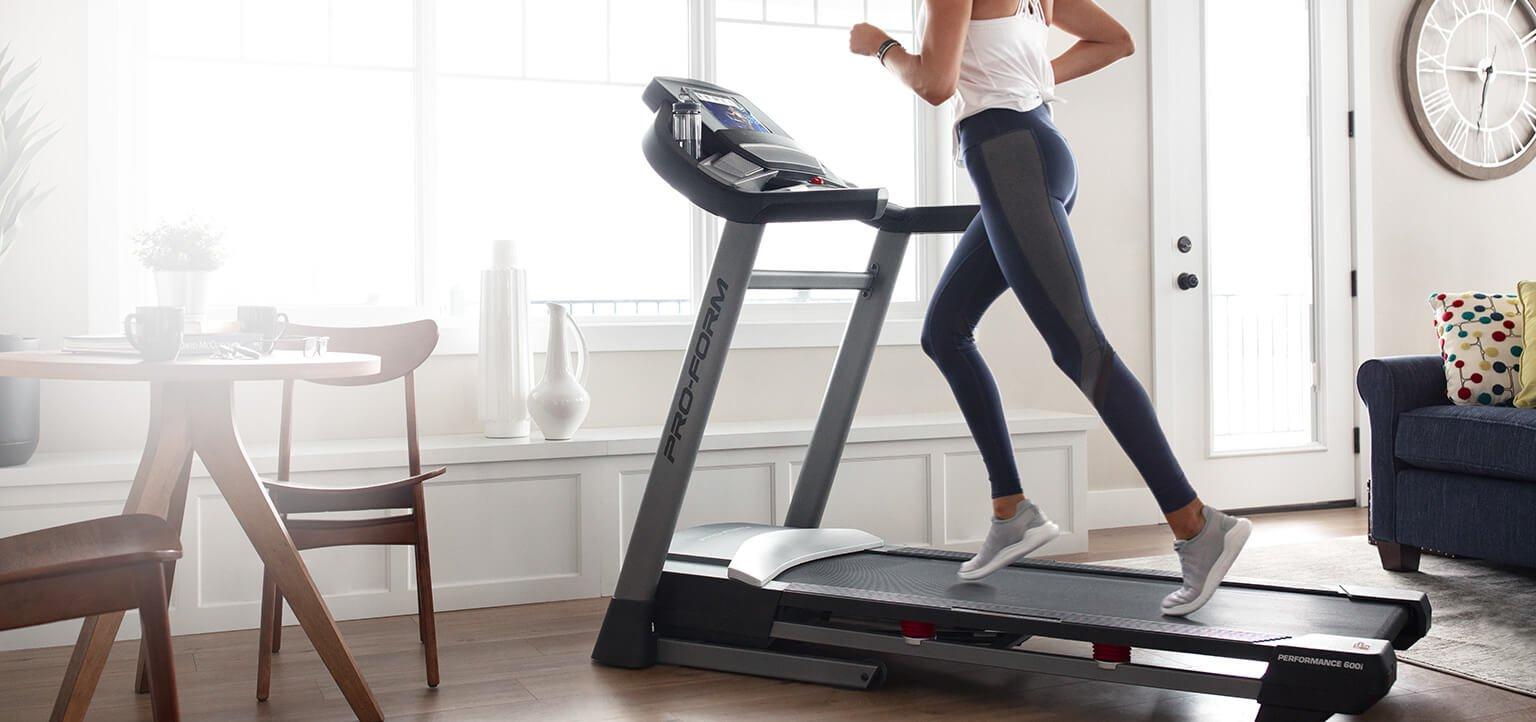 ProForm Treadmill in the home