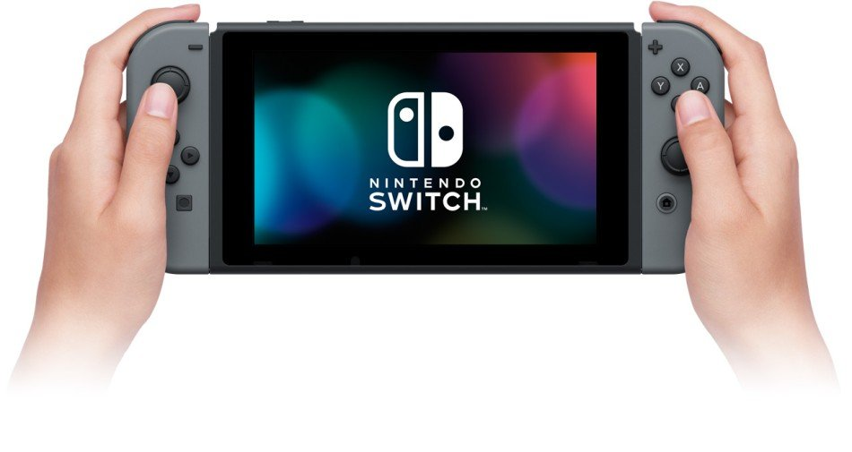 Nintendo Switch handheld mode