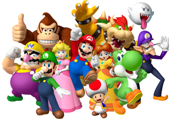 Characters from Nintendo franchise