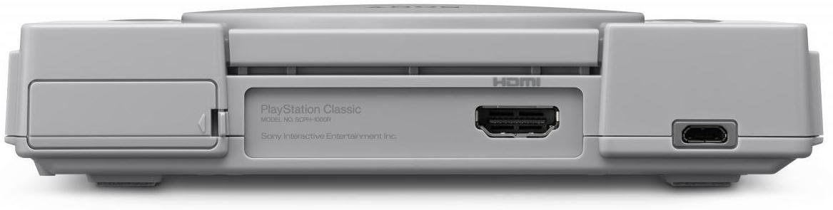 hdmi ports on sony playstation classic