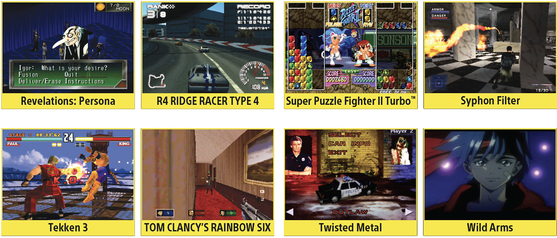 more games for playstation classic