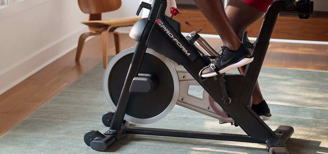 proform exercise bike goes fast