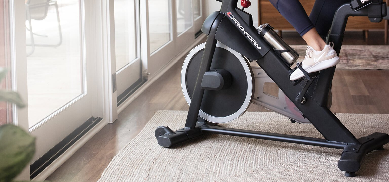 proform exercise bike inside