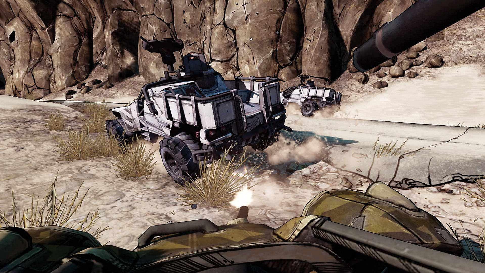 Borderlands 2 VR gameplay