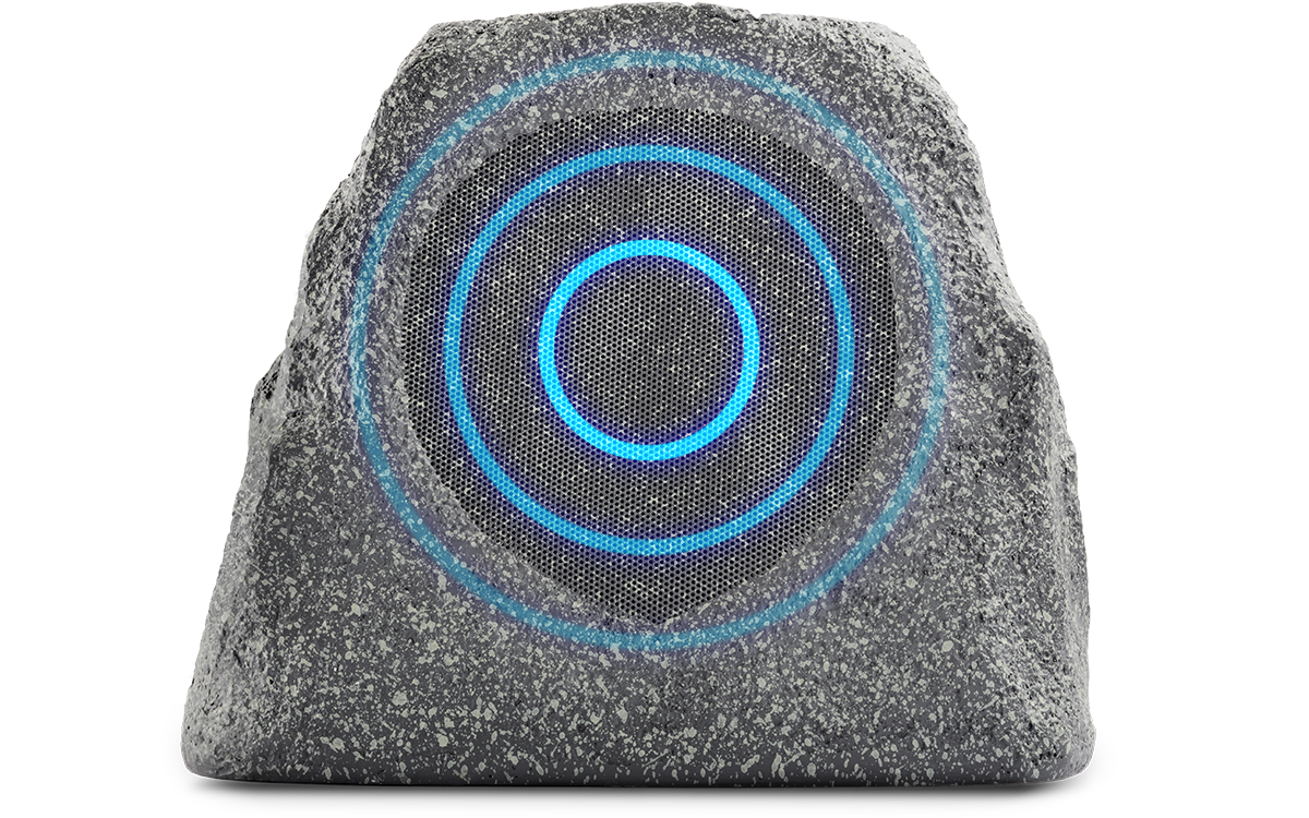 solar stone multi with sound waves